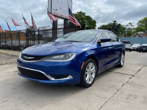 2015 Chrysler 200 for sale at Gus's Used Auto Sales in Detroit MI
