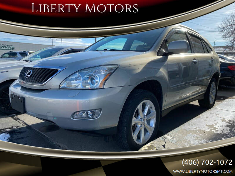 2008 Lexus RX 350 for sale at Liberty Motors in Billings MT