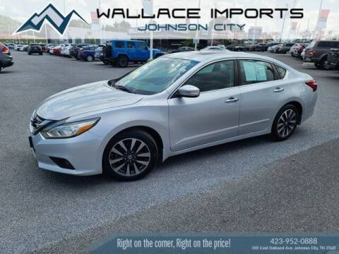 2017 Nissan Altima for sale at WALLACE IMPORTS OF JOHNSON CITY in Johnson City TN