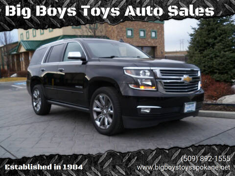 2015 Chevrolet Tahoe for sale at Big Boys Toys Auto Sales in Spokane Valley WA
