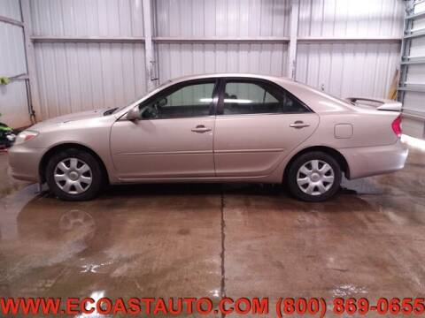 2003 Toyota Camry for sale at East Coast Auto Source Inc. in Bedford VA