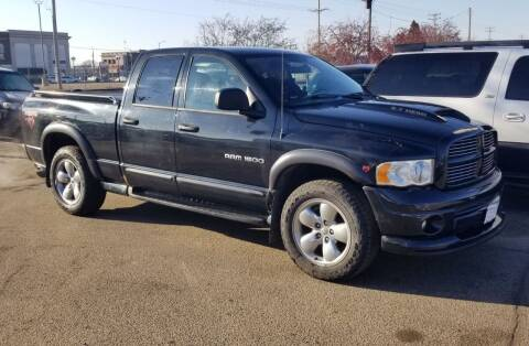 2004 Dodge Ram Pickup 1500 for sale at Tower Motors in Brainerd MN