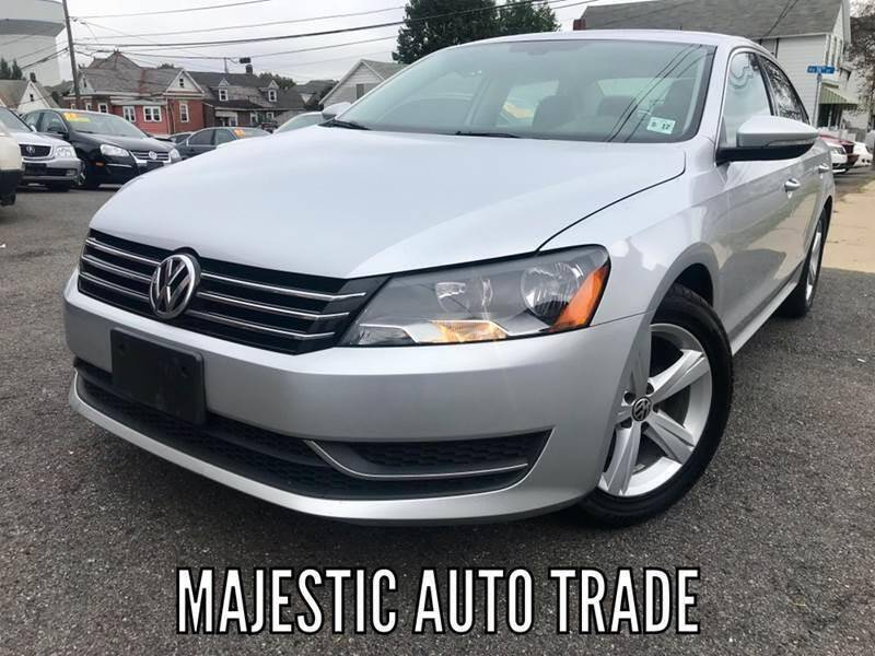 2012 Volkswagen Passat for sale at Majestic Auto Trade in Easton PA