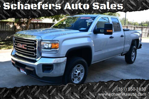 2019 GMC Sierra 2500HD for sale at Schaefers Auto Sales in Victoria TX