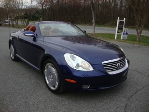 2002 Lexus SC 430 for sale at Pristine Auto Sales in Monroe NC