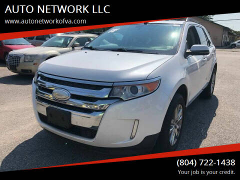 2013 Ford Edge for sale at AUTO NETWORK LLC in Petersburg VA