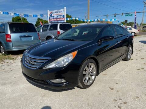 2013 Hyundai Sonata for sale at SKYLINE AUTO SALES LLC in Winter Haven FL