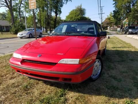 1991 Mercury Capri for sale at RBM AUTO BROKERS in Alsip IL