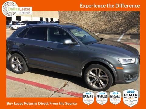2015 Audi Q3 for sale at Dallas Auto Finance in Dallas TX