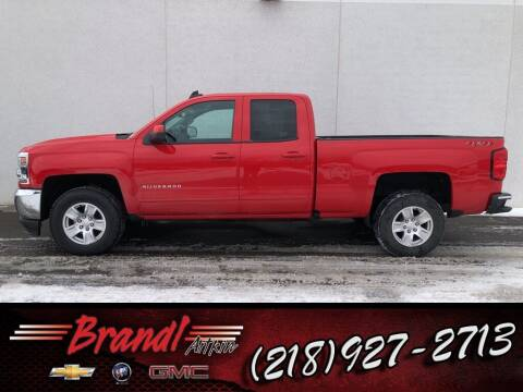 2019 Chevrolet Silverado 1500 LD for sale at Brandl GM in Aitkin MN