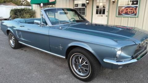 1967 Ford Mustang for sale at Haigler Motors Inc in Tyler TX