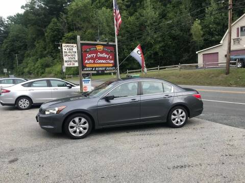 2009 Honda Accord for sale at Jerry Dudley's Auto Connection in Barre VT