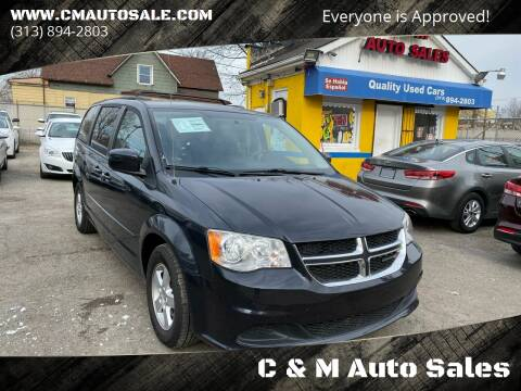 2013 Dodge Grand Caravan for sale at C & M Auto Sales in Detroit MI