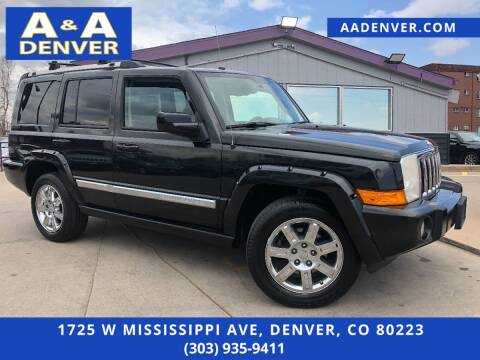 2010 Jeep Commander for sale at A & A AUTO LLC in Denver CO