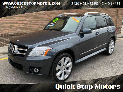 2010 Mercedes-Benz GLK for sale at Quick Stop Motors in Kansas City MO