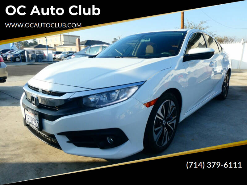 2016 Honda Civic for sale at OC Auto Club in Midway City CA