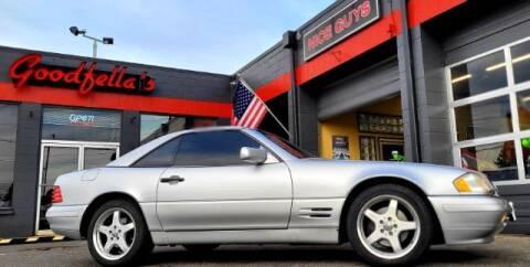 1998 Mercedes-Benz SL-Class for sale at Goodfella's  Motor Company in Tacoma WA