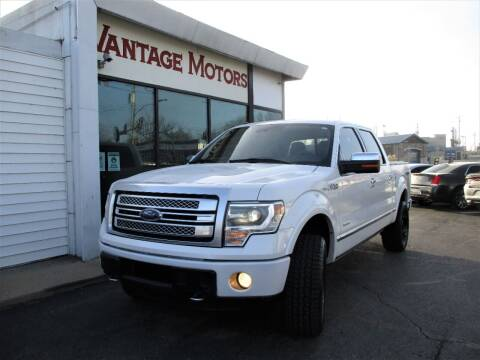 2013 Ford F-150 for sale at Vantage Motors LLC in Raytown MO
