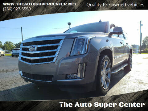 2017 Cadillac Escalade ESV for sale at The Auto Super Center in Centre AL