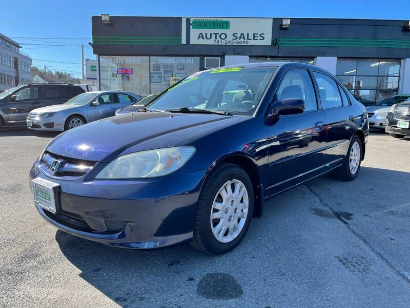2004 Honda Civic for sale at Wakefield Auto Sales of Main Street Inc. in Wakefield MA