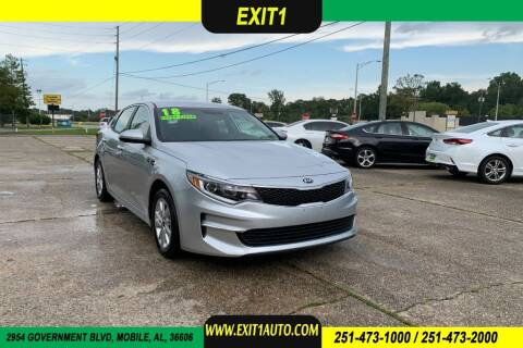 2018 Kia Optima for sale at Exit 1 Auto in Mobile AL