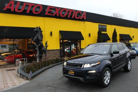 2018 Land Rover Range Rover Evoque for sale at Auto Exotica in Red Bank NJ