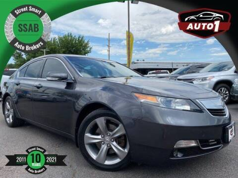 2013 Acura TL for sale at Street Smart Auto Brokers in Colorado Springs CO