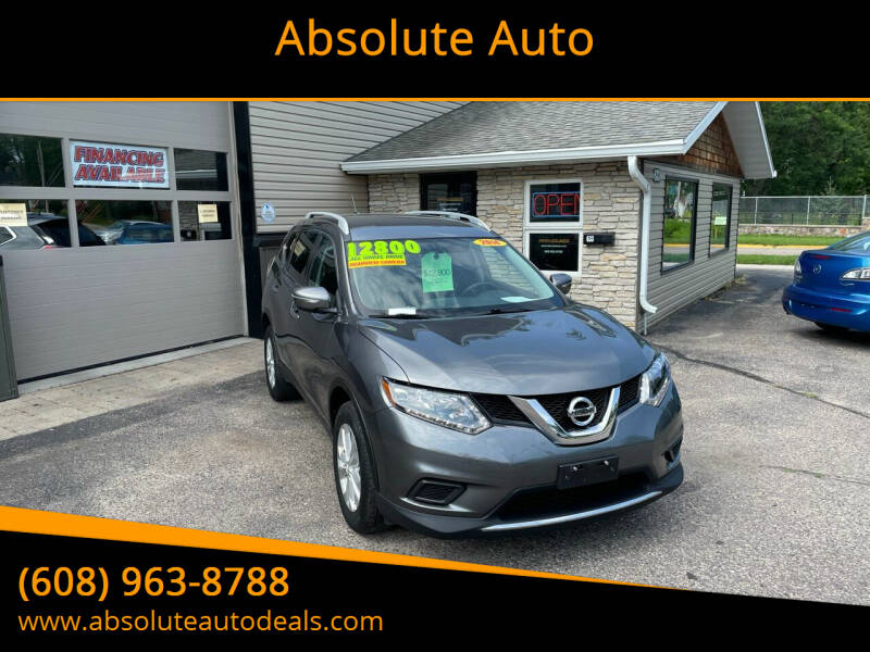 2014 Nissan Rogue for sale at Absolute Auto in Baraboo WI