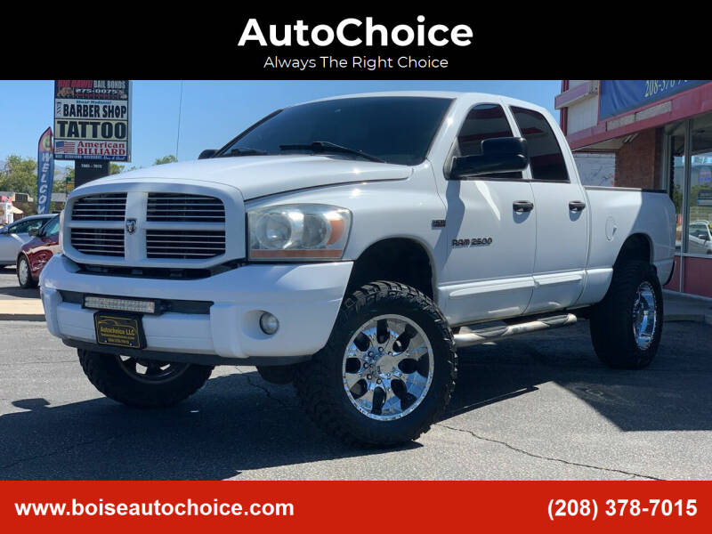 2006 Dodge Ram Pickup 2500 for sale at AutoChoice in Boise ID