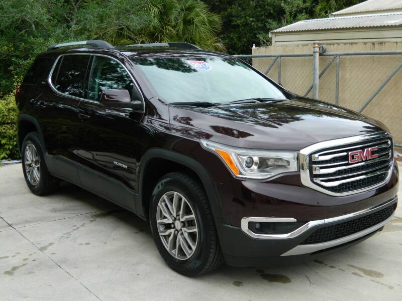 2017 GMC Acadia for sale at Jeff's Auto Sales & Service in Port Charlotte FL