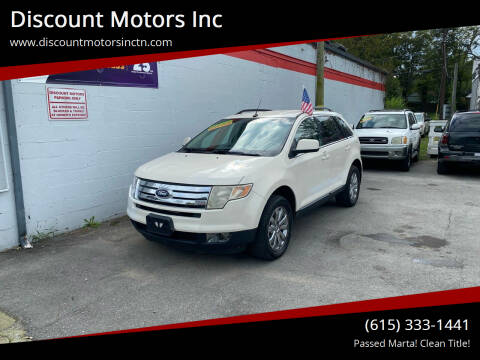 2008 Ford Edge for sale at Discount Motors Inc in Nashville TN
