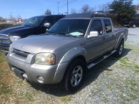 2003 Nissan Frontier for sale at Clayton Auto Sales in Winston-Salem NC