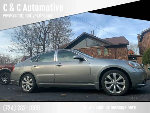 2007 Infiniti M35 for sale at C & C Automotive in Chicora PA