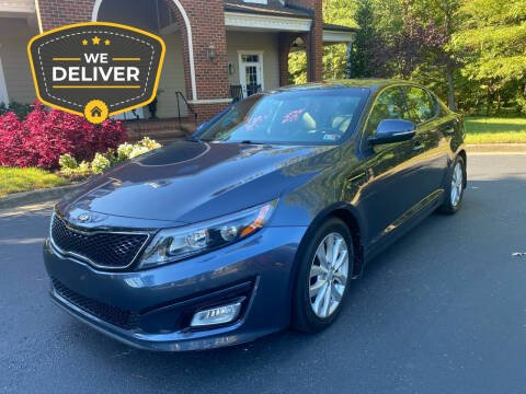 2015 Kia Optima for sale at Premier Auto Solutions & Sales in Quinton VA