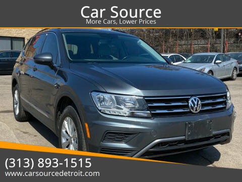 2018 Volkswagen Tiguan for sale at Car Source in Detroit MI