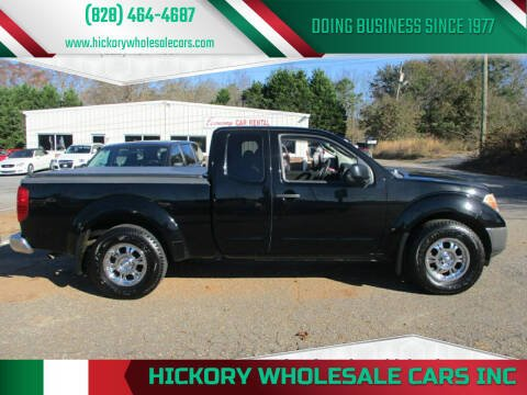 2006 Nissan Frontier for sale at Hickory Wholesale Cars Inc in Newton NC
