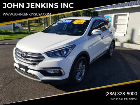 2018 Hyundai Santa Fe Sport for sale at JOHN JENKINS INC in Palatka FL