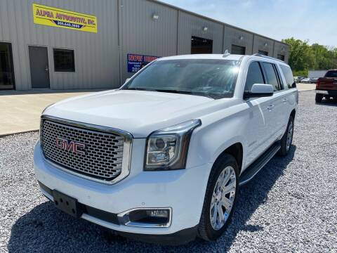 2015 GMC Yukon XL for sale at Alpha Automotive in Odenville AL