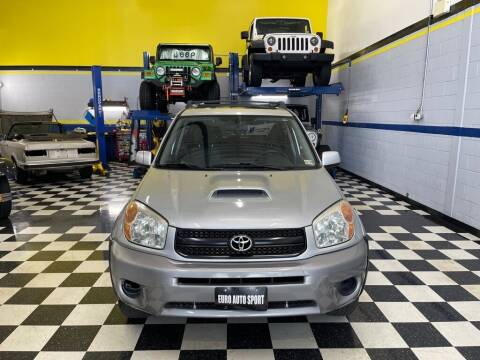 2004 Toyota RAV4 for sale at Euro Auto Sport in Chantilly VA