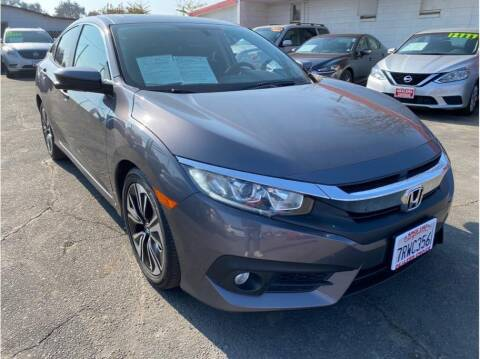 2016 Honda Civic for sale at Dealers Choice Inc in Farmersville CA