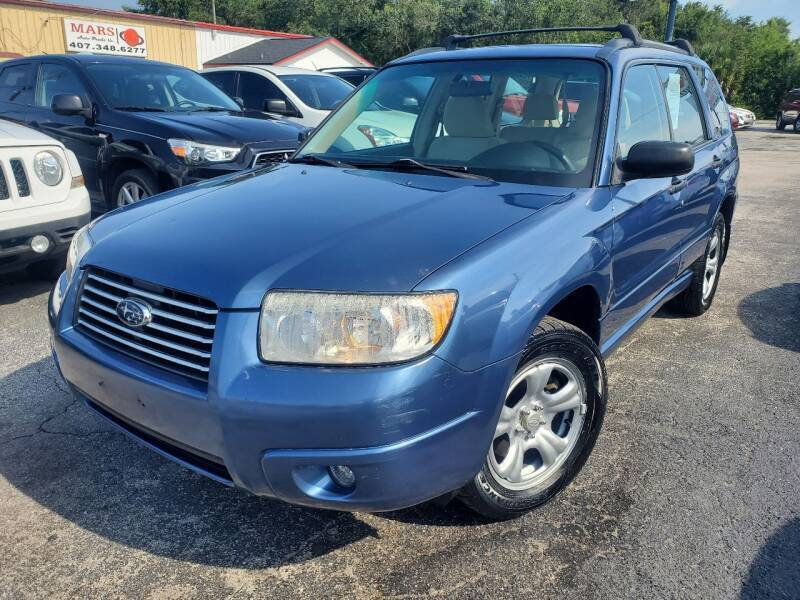 2007 Subaru Forester for sale at Mars auto trade llc in Kissimmee FL