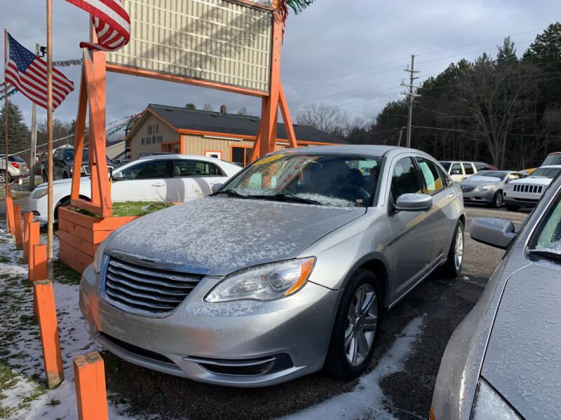 2011 Chrysler 200 for sale at CARS R US in Caro MI