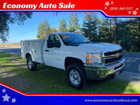 2011 Chevrolet Silverado 2500HD for sale at Economy Auto Sale in Modesto CA