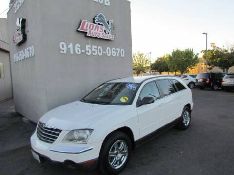 2005 Chrysler Pacifica for sale at LIONS AUTO SALES in Sacramento CA