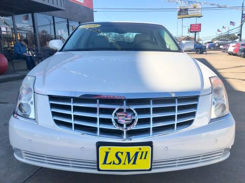 2009 Cadillac DTS for sale at LONE STAR MOTORS II in Fort Worth TX