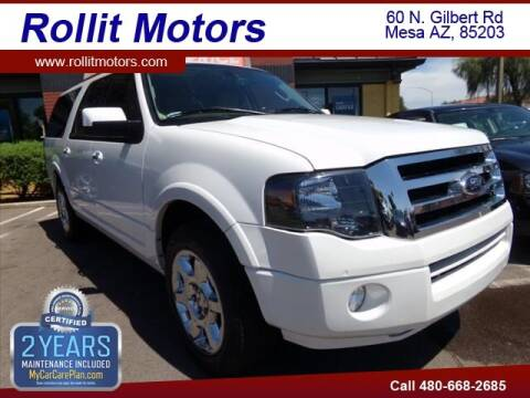 2014 Ford Expedition EL for sale at Rollit Motors in Mesa AZ
