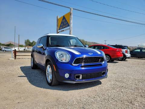 2015 MINI Paceman for sale at Auto Depot in Carson City NV