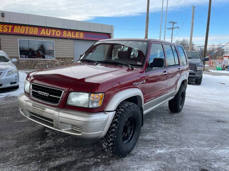 1998 Isuzu Trooper for sale at Best Motor Auto Sales in Geneva OH