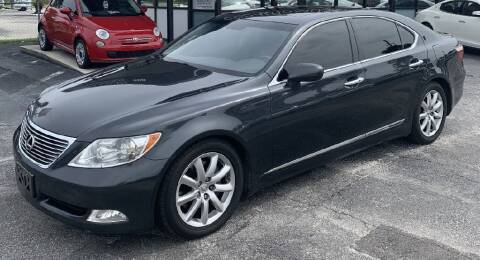2007 Lexus LS 460 for sale at WHEEL UNIK AUTOMOTIVE & ACCESSORIES INC in Orlando FL