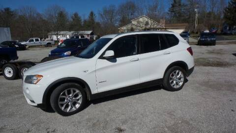 2013 BMW X3 for sale at Tates Creek Motors KY in Nicholasville KY
